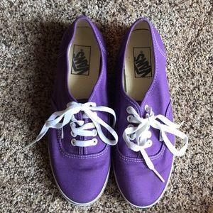Vans Purple Lo Pro